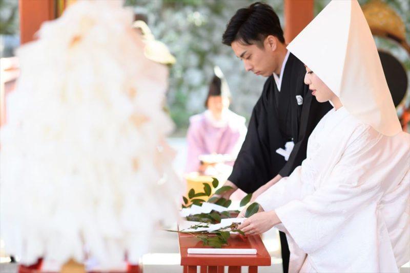 両家の親族と親睦を深めた温かみに満ちた和婚式