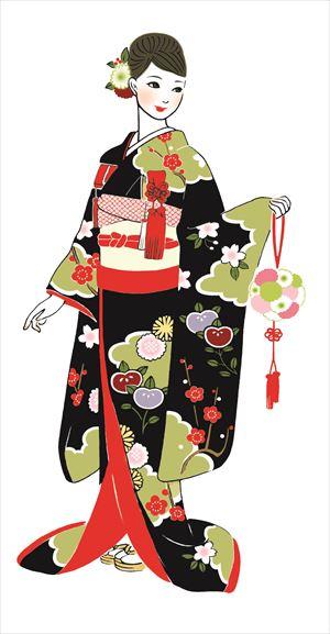 花嫁和装レクチャー 衣裳選びの最初に知っておきたいきものの種類