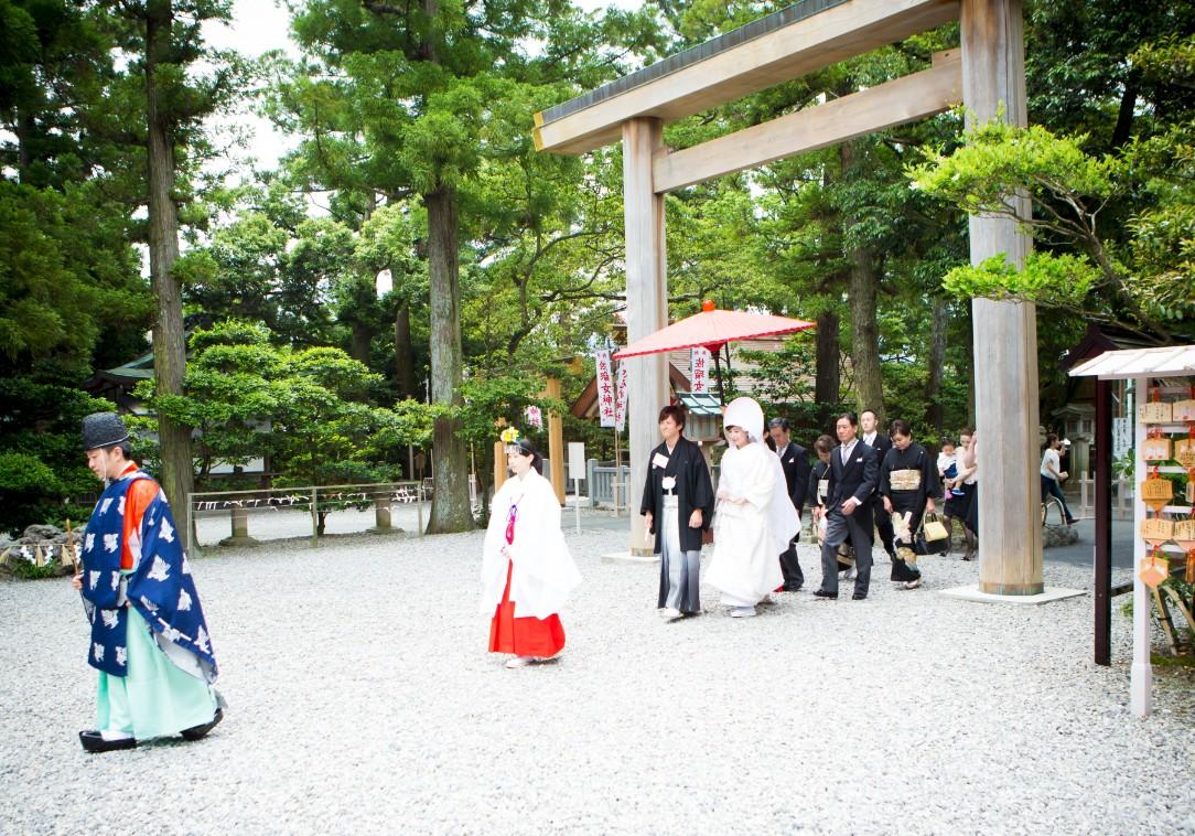 歴史を感じる旅〜伊勢の結婚式