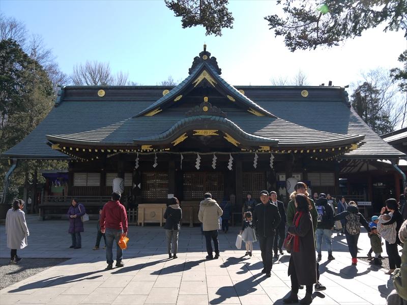 結婚式ができる神社へお参り〜八王子・府中編〜