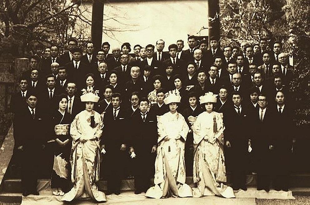 同時挙式から50年、三組で再び仲良く合同金婚式