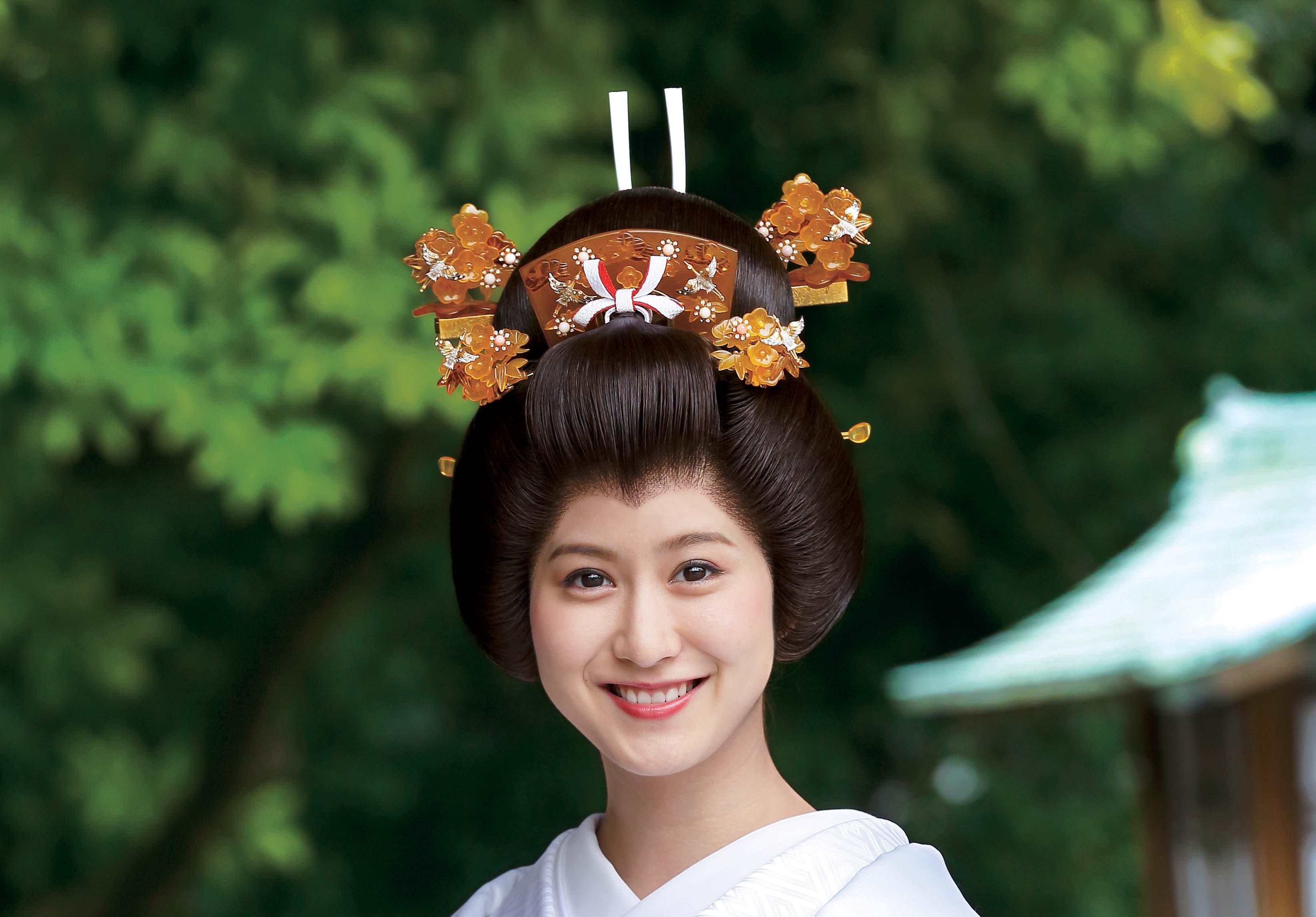 【和装レクチャ―】<br>伝統の日本髪「文金高島田」とかつら