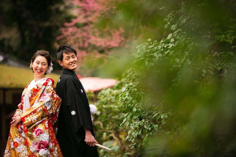 【東京・八芳園】旅をテーマに映像とDIYで演出