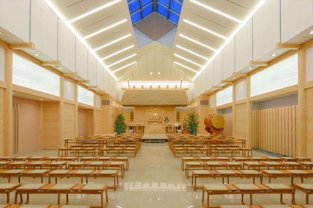 横浜を代表する神社婚スポット<br>伊勢山皇大神宮に新しい挙式場が完成