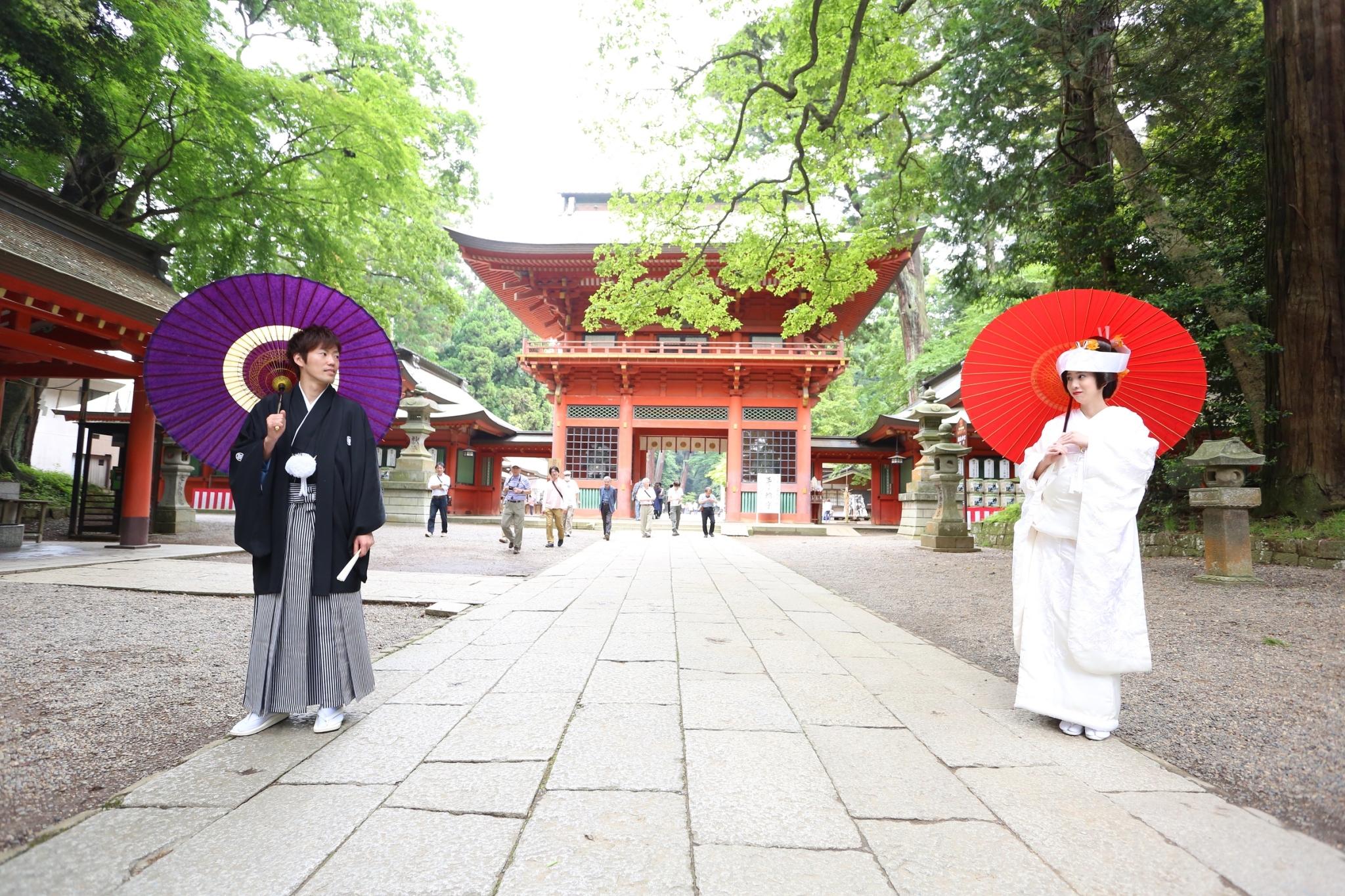 最強のパワースポット「始まりの地」鹿島神宮での神社挙式