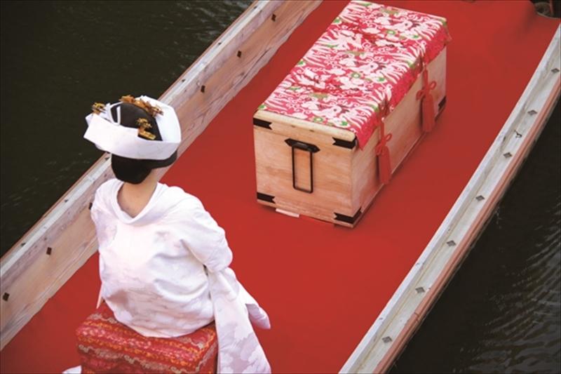 5月26日(土)から今年も開催 <br>水郷潮来伝統の「嫁入り舟」を見に行こう