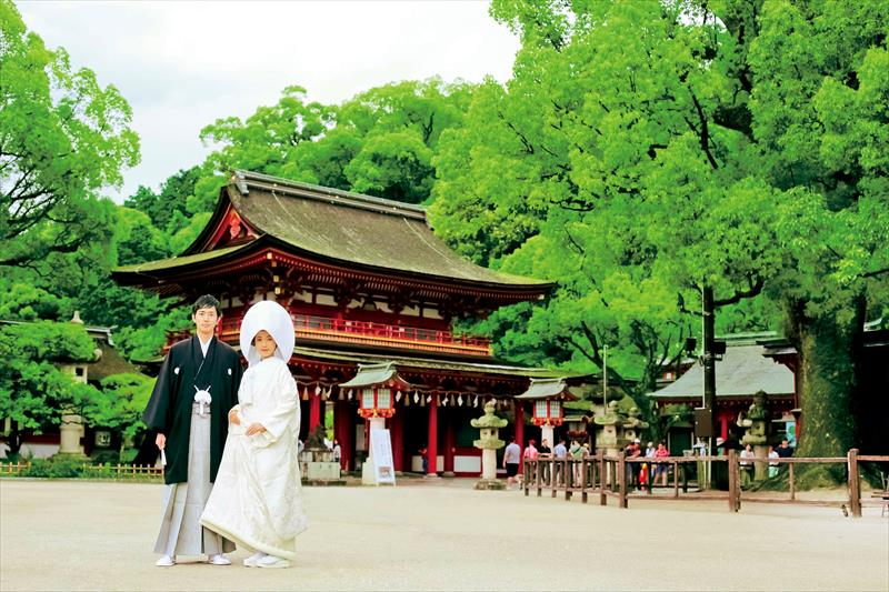 福岡の憧れの神社で安心の和婚を<br>神話婚福岡がスタート