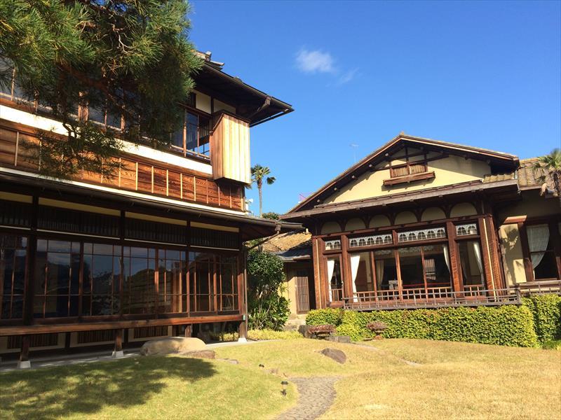 熱海の歴史的建造物「起雲閣」で撮影<br>花嫁モデルを募集