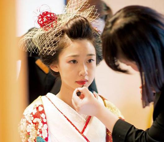 【先輩花嫁の和装snap】<br>花嫁の髪型~地毛結いの日本髪と新日本髪