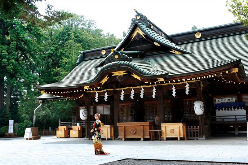 日本の結婚式28CoverStory<br>松本莉緒〜心が帰る場所をもつ幸せ〜大國魂神社