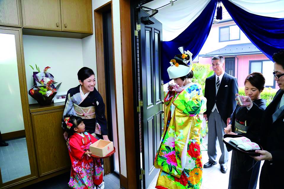 日本各地に今も残る懐かしい婚礼<br>一生水と万寿まき(福井)
