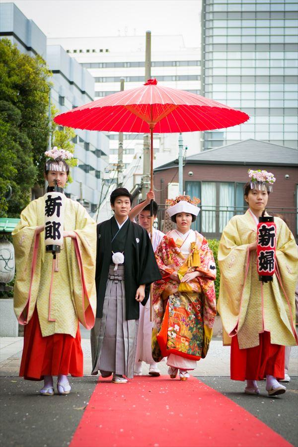 東京都心で叶える本格神前結婚式<br>芝大神宮の挙式の流れを知る