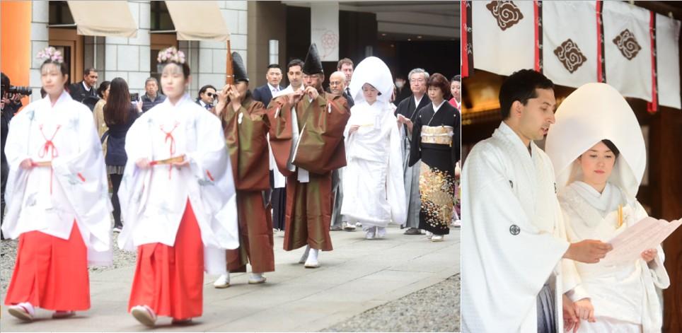 &#160;日本文化が薫る結婚式を川越で<br>海外から参加したゲストも大感動
